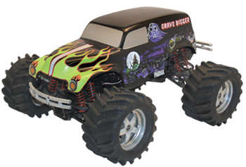 1/10 Grave Digger - Painted Body picture