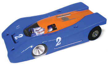 "1/32 Porsche 917K Coupe - Clear .010"" Body picture"