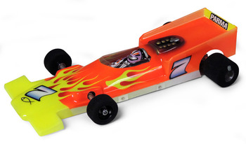 1/24 F1 McLaren M7 RETRO - .010 Clear Body picture