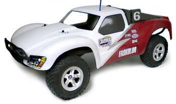 RATTLER Truck For SLASH - Clear Body picture
