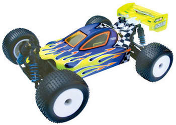 1/18 X-citer Buggy RC18T - Clear Body picture