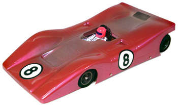 1/24 M.A.C. Ferrari 312P RETRO - .010 Clear Body picture