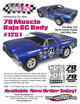 "70 Muscle Baja SC .040"" Clear Body additional picture 2"