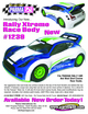 "Rally Xtreme .040"" Clear Body w/Wing additional picture 2"
