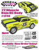 "72 MUSCLE SC BAJA .040"" Clear Body additional picture 2"
