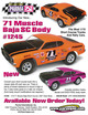 """71 MUSCLE SC BAJA .040"""" Clear Body additional picture 3"""