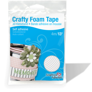 Crafty Foam Tape - White picture