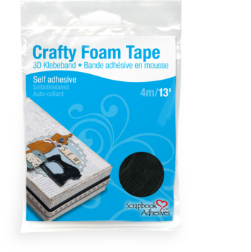 Crafty Foam Tape - Black picture