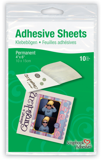 "Adhesive Sheets - 4"" x 6"" picture"