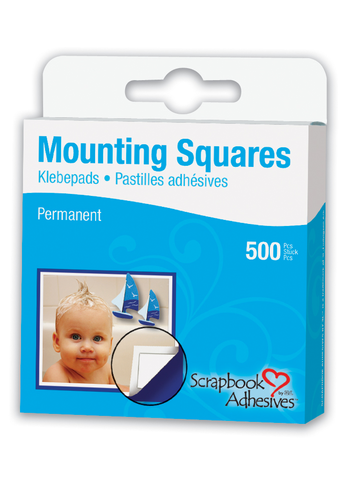 Mounting Squares - 500 White picture