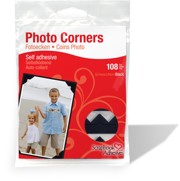 Photo Corners - Classic Style, Black picture