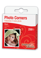 Photo Corners - Polypropylene, Black