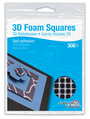 3D Foam Squares - Black, Small