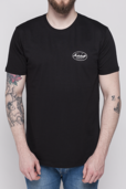 MENS WHITE OVAL LOGO T-SHIRT