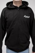 Zipped Hoodied Sweatshirt