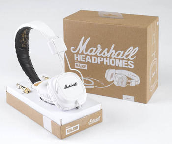 White Major Headphones picture