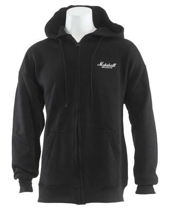 Hooded Sweatshirt Full Zip Marshall Logo picture