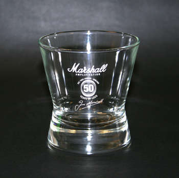 Marshall 50th Anniversary Whisky Glass picture