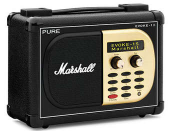 Pure Evoke - 1S Marshall DAB Digital and FM Radio picture