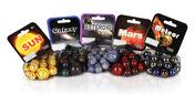Galactic Wonders - Marble Set - 5 Total