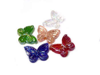 FESTIVE TREASURE GLASS BUTTERFLY 18/BX picture