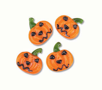 FESTIVE TREASURE GLASS PUMPKIN 24/BOX picture