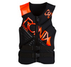 2013 Parks - Capella Front Zip CGA Life Vest - Black / The Juice