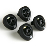 Metric M6 Phillips Head Mounting Hardware w/ Washer (set of 4) - Black