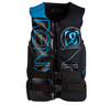 2013 One - Capella Front Zip CGA Life Vest - Black / Azure