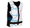 2013 One Front Zip Impact Jacket - Ceramic White / Azure