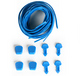 Lace Lock Kit- Azure (4 laces, 4 locks)