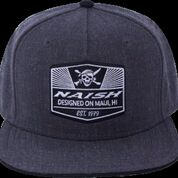Skull Patch Snapback Cap picture
