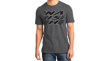 Logo Stripe T-Grey-XL picture
