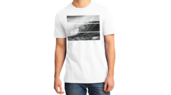 Tribal Wave T-White-L