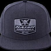 Skull Patch Snapback Cap