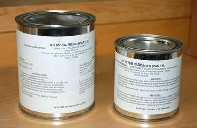 Skid Plate Resin/Hardner - Pint (Ground Ship Only)