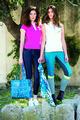 Denim Blue Summer Ladies Denim Breeches