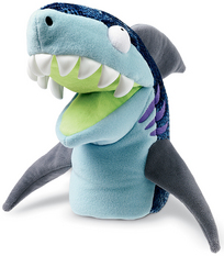 Chopper Chums Hand Puppet Shawn Shark