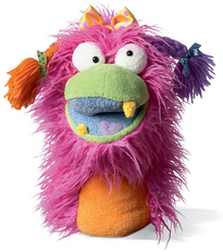 Fuzzy Wuggs Hand Puppet Girlie