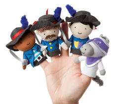 Storytime Musketeer Mates