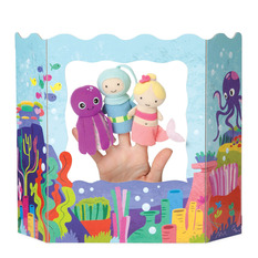 Ocean Adventures Finger Puppet Set