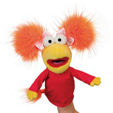 Fraggle Rock Hand Puppet Red