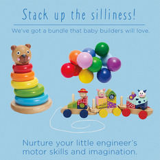 Playhouse Wooden Baby Bundle