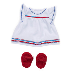 Baby Stella Liberty Dress & Sandals Outfit