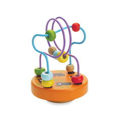 Wobble-A-Round Beads Orange