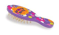 Groovy Girls Child Size Best Tressed Brush (Purple w/Multi Polka Dots)