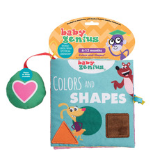 Baby Genius Colors and Shapes Soft Book