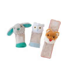 Woodland Babies Foot Finders & Rattle