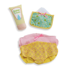Wee Baby Stella Diaper Changing Set