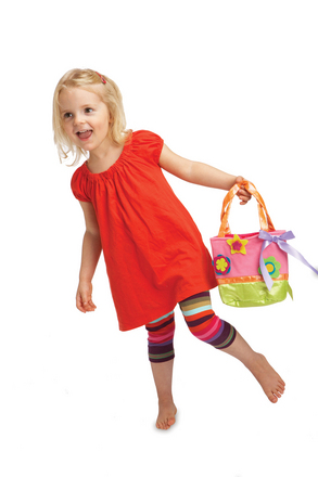Groovy Girls Child Size Flowerful Frills Handbag Set picture